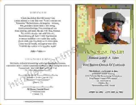 6 funeral programs examplesagenda template sample agenda