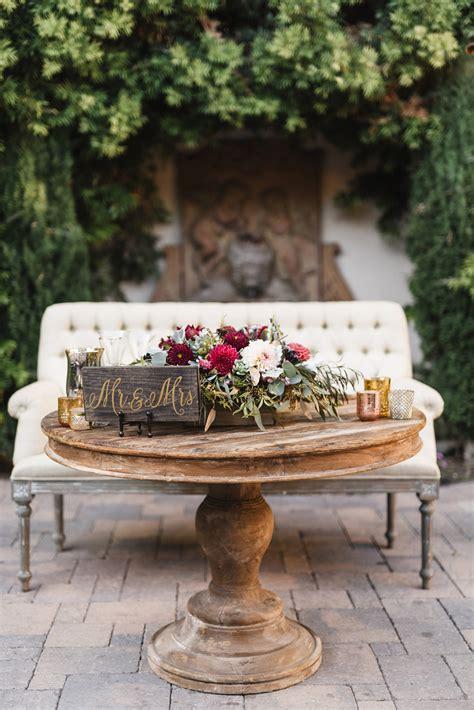 rustic wedding ideas   feel elevated martha