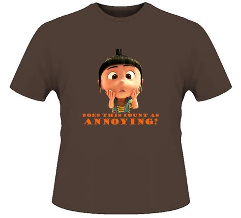 T Shirt Chocolate Despicable Me 58 best images about despicable me on