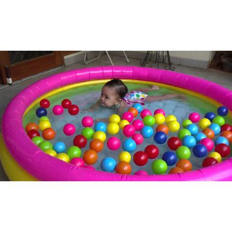 Kolam Intex 57412 kolam anak intex pelangi kolam karet intex kolam renang
