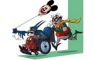 Thread if superheroes became elderly
