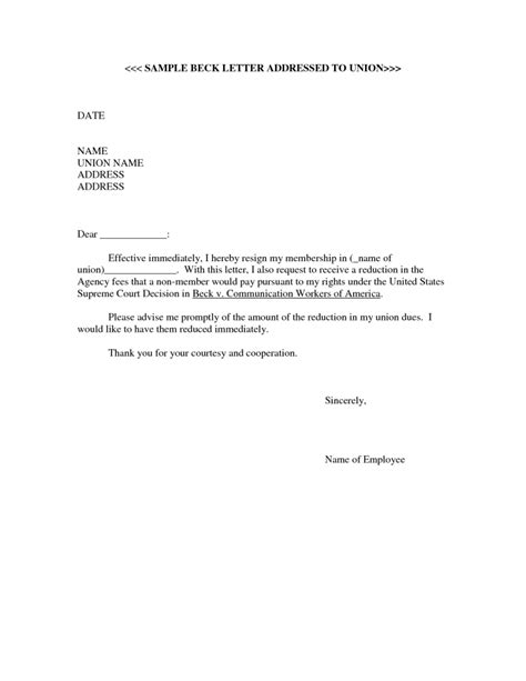 Resignation Letter Union Steward Resignation Letter Format Phenomenal Resignation Letter Immediately Template Letter Of