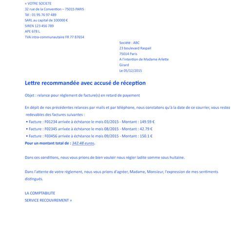 Lettre De Relance Visa formule de politesse lettre de relance contrat de