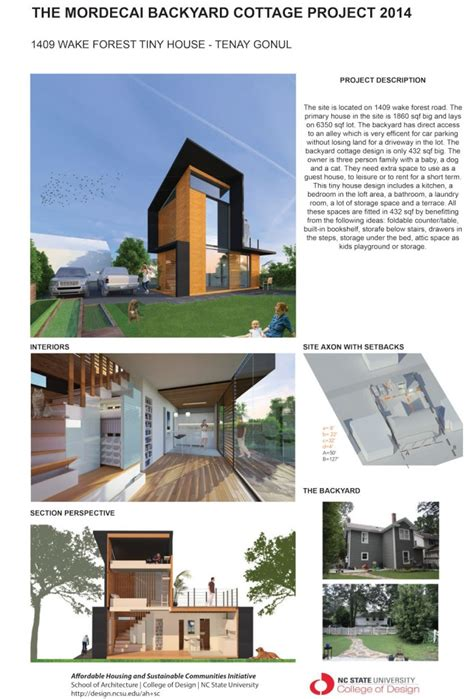 newton s architecture portfolio housing project the mordecai backyard cottage project affordable housing