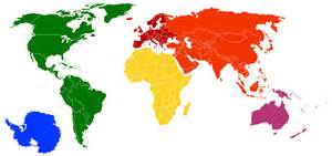 Monkey Area Rug File Continents By Colour Simpler Png