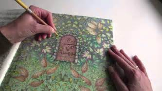 colouring my secret garden the secret door part 1 how