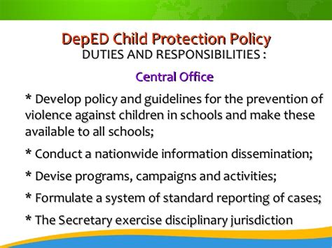 and abuse policy template child protection policy