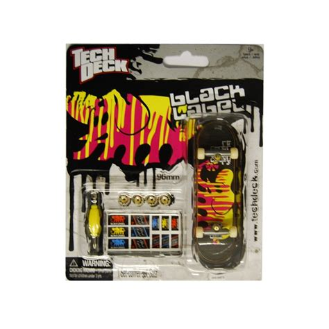 Tech Deck Finger Board Black Label 02 pin by howleys toys on fingerboards stunt toys