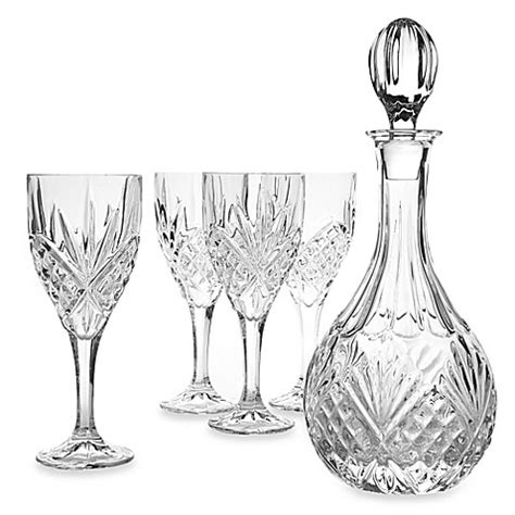 godinger barware buy godinger dublin crystal wine 5 piece barware set from