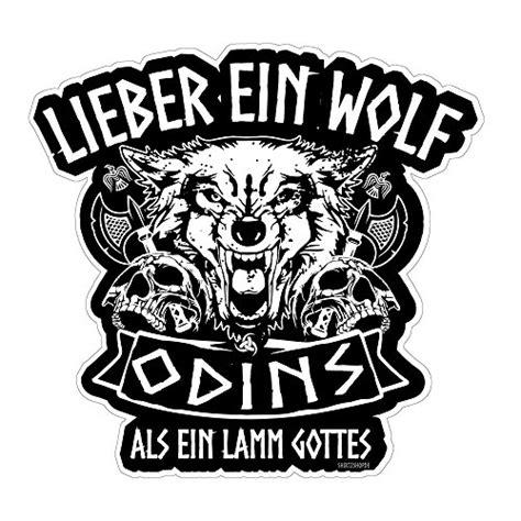 Autoaufkleber Baby Wikinger by Preisvergleich Lieber Ein Wolf Odins Als Ein Lamm Gottes