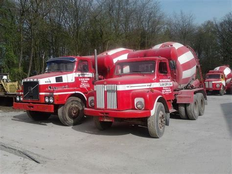 volvo scania 17 best images about beton pomp trucks on