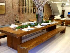 Bench Dining Room Set Ideas Dining Room Designs Amazing Dining Room Design Reclaimed Wood Dining Table With Bench Great