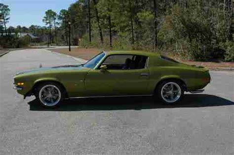 buy car manuals 1971 chevrolet camaro electronic valve timing find used 1971 camaro z28 pro touring number matching 350ci 330hp lt1 engine rebuilt in myrtle