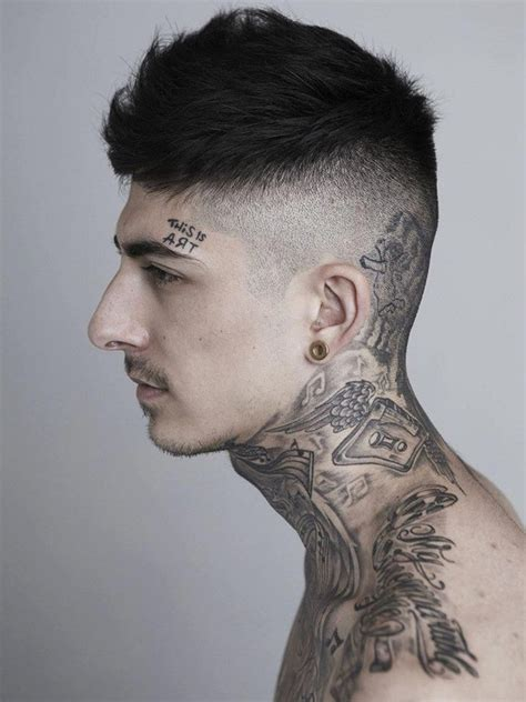small neck tattoos for men 75 best tattoos for back ideas for