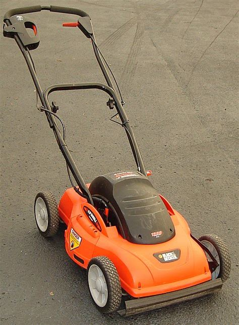 black decker mower black decker hp 20 quot cut electric push mower