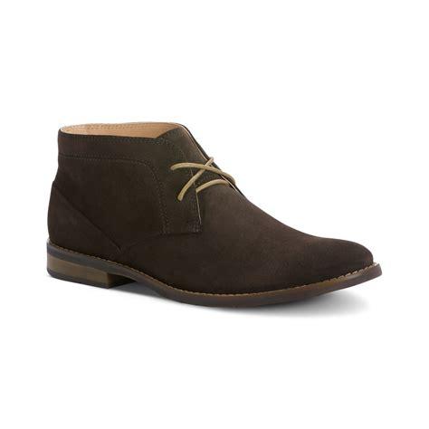 calvin klein boots calvin klein wilson chukka boots in brown for