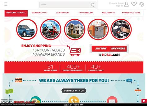 mahindra finance portal mahindra launches portal m2all team bhp