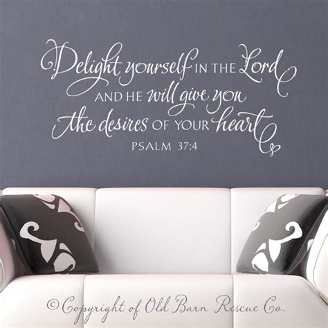 bible verse wall stickers christian wall decal wall sticker delight by