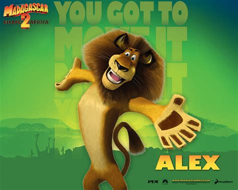 madagaskar film lion name madagascar s alex the lion desktop wallpaper