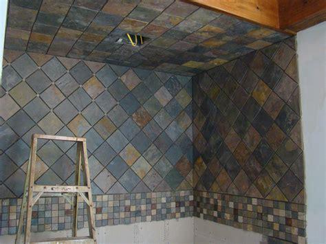 slate tile shower homeofficedecoration slate tile for shower walls