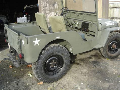 willys jeep cj   military clone  sale willys utility   sale  beardstown