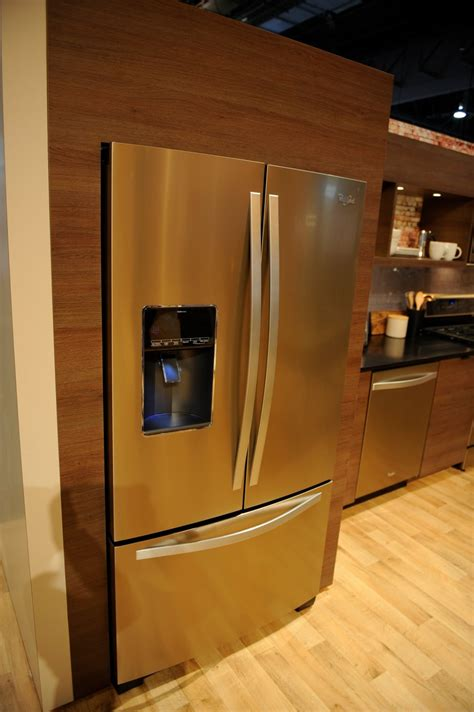 up close with whirlpool s new sunset bronze finish bronze kitchen appliances www imgkid com the image kid