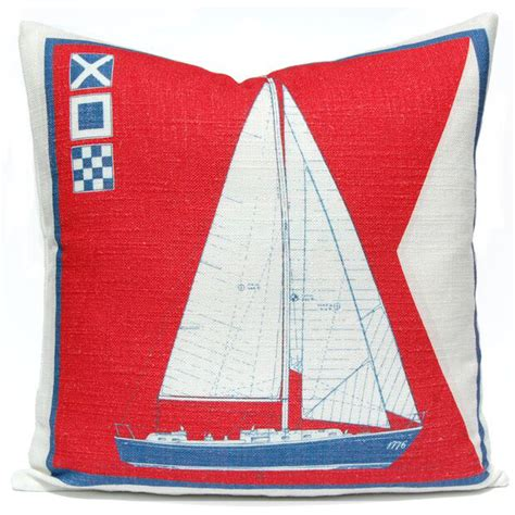 Boat Pillows by Sail Boat Pillow