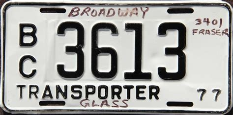 Motor Trade Licence by 1977 License Plates For Sale And Trade And Display At