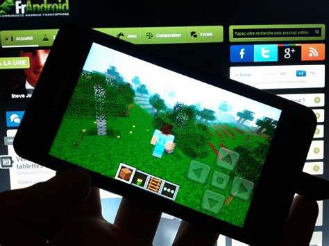 minecraft pocket edition free android minecraft pocket edition jeu android images vid 233 os astuces et avis