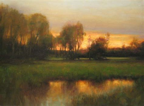 landscape painting demo by a master dennis sheehan fine