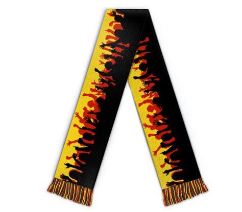 football scarf stadium wildemasche