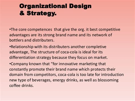 layout strategy of coca cola organizational culture of coca cola