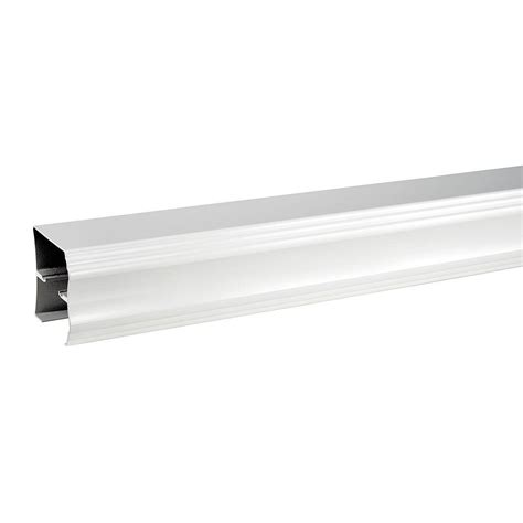 Sliding Shower Door Track Delta 48 In To 60 In Sliding Shower Door Track Assembly Kit In White Sdlsd60 Wht R The Home