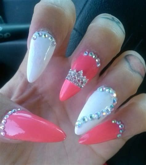 cute stiletto nail designs 30 unique stiletto nail designs 2015