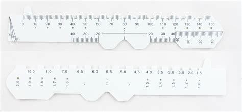 printable pupillary distance ruler pd ruler related keywords suggestions pd ruler long