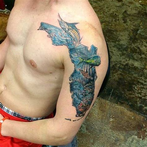 25 beautiful state of florida tattoos tattooblend