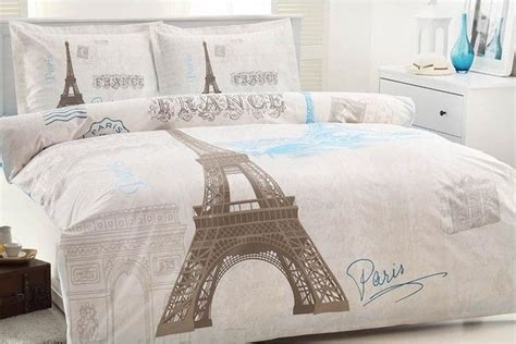 eiffel tower bedroom set 100 cotton 4 pcs paris eiffel tower queen double bedding