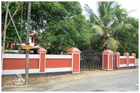 house design kerala style free kerala style compound wall designsreal estate kerala free