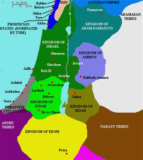middle east map testament notes from a small island the land of israel myth