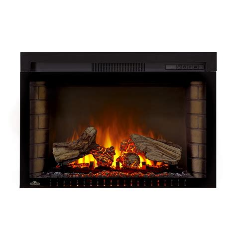 Built In Stove Fireplace by Napoleon Nefb2 Cinema Built In Electric Firebox Lowe S