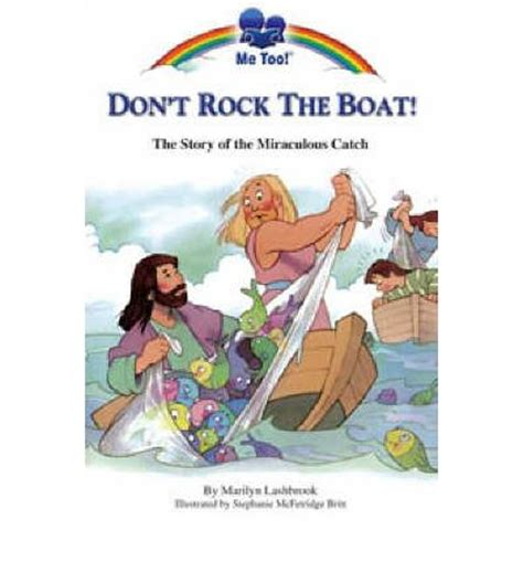 don t rock the boat don t rock the boat baby don t rock the boat marilyn lashbrook 9781859856987