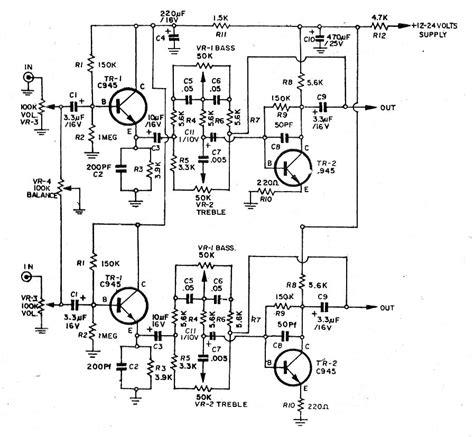 c828 transistor circuit diagram high quality tone circuit by transistor low noise