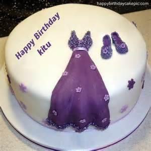 Dress birthday cakes for girls for kitu