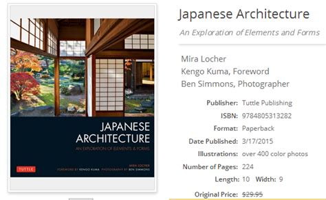 elements of japanese architecture recommended asian architecture books tuttle