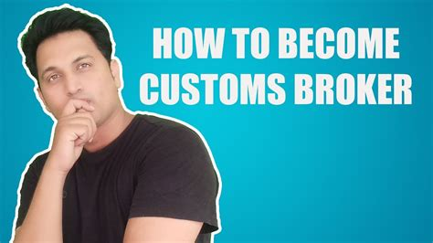 How Do I Become A Stockbroker by How To Become Customs Broker