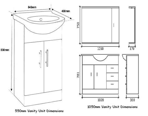 Bathroom Cabinet Measurements by Great Bathroom Great Typical Bathroom Vanity Sizes Tsc