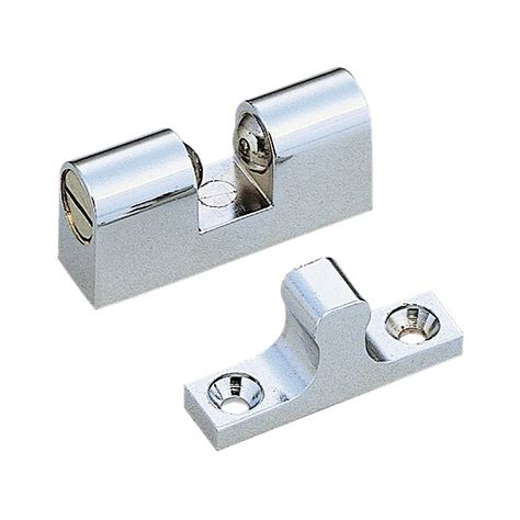 Exterior Door Catch Shop Sugatsune Polished Chrome Entry Door Roller Catch Tension Latch At Lowes
