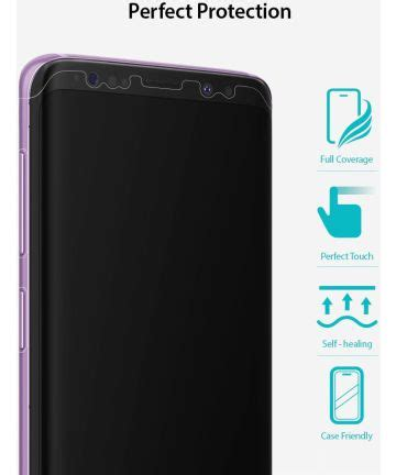 Ringke Id Invisible Defender Galaxy S9 Plus Screen Protector ringke id cover screen protector samsung galaxy s9 plus 3 pack gsmpunt nl