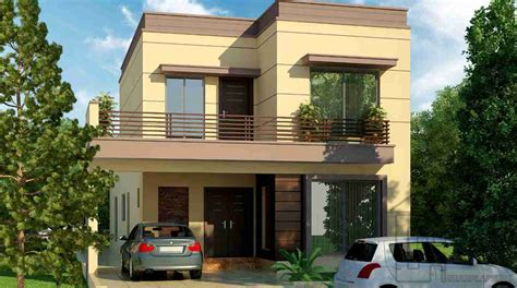 house front 10 marla house front elevation gharplans pk