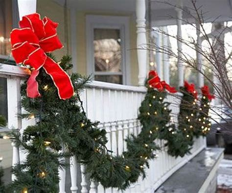 outdoor christmas decorations ideas porch 26 super cool outdoor d 233 cor ideas with christmas lights